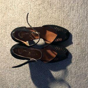 NINA Velvet Sandals